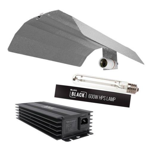 Lumii Black 600w Digital Light Kit