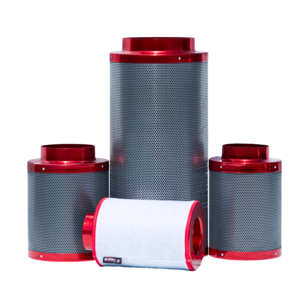 red scorpion carbon filter